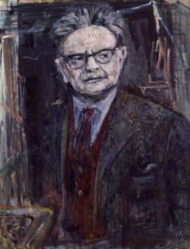 NPG 6190,Elias Canetti,by Marie-Louise von Motesiczky