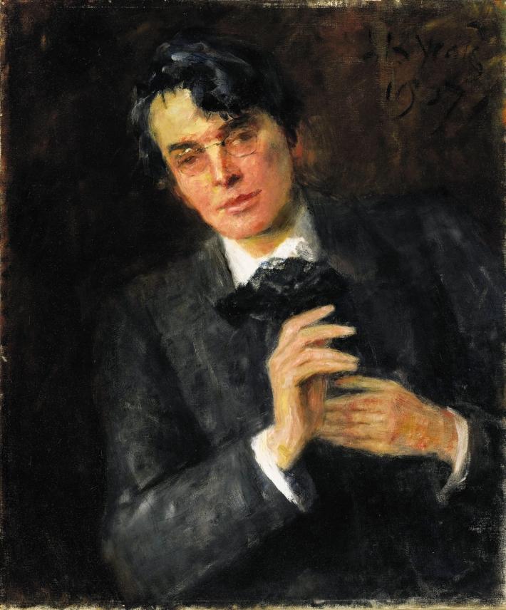 """""""Retrato de su joven hijo"""" por John B. Yeats"""