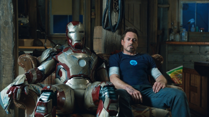 Iron MAn 3 Tony Stark Robert Downey Jr.