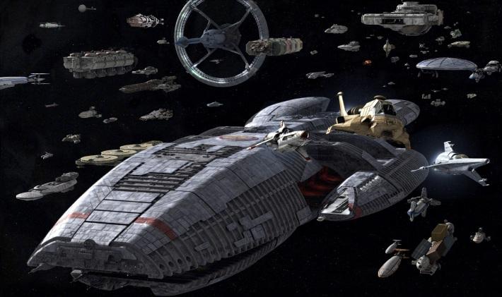 Battlestar Galactica Human Fleet