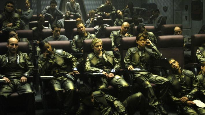 Battlestar Galactica pilotos