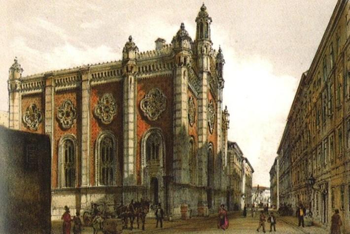 Rudolf_Ritter_von_Alt Leopoldstädter Tempel