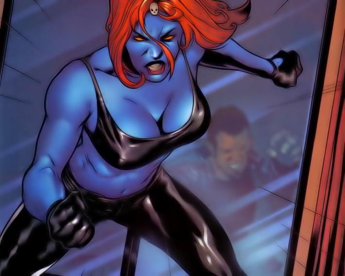 Mística Mystique Raven Darkholme Marvel