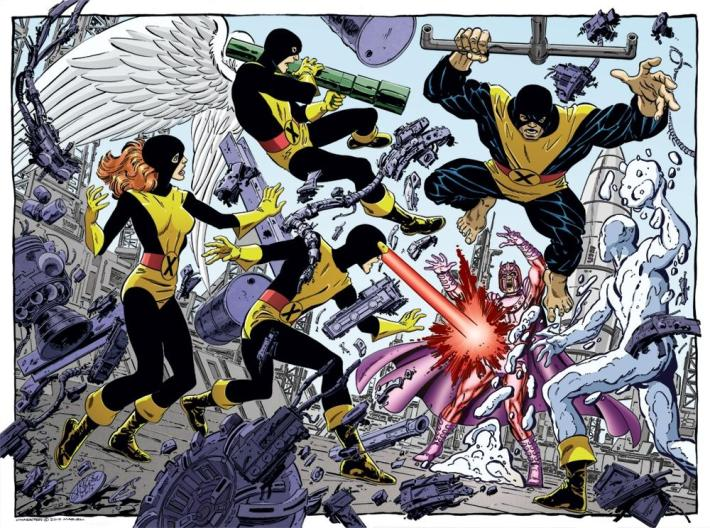 Original X-Men La Patrulla-x original Marvel
