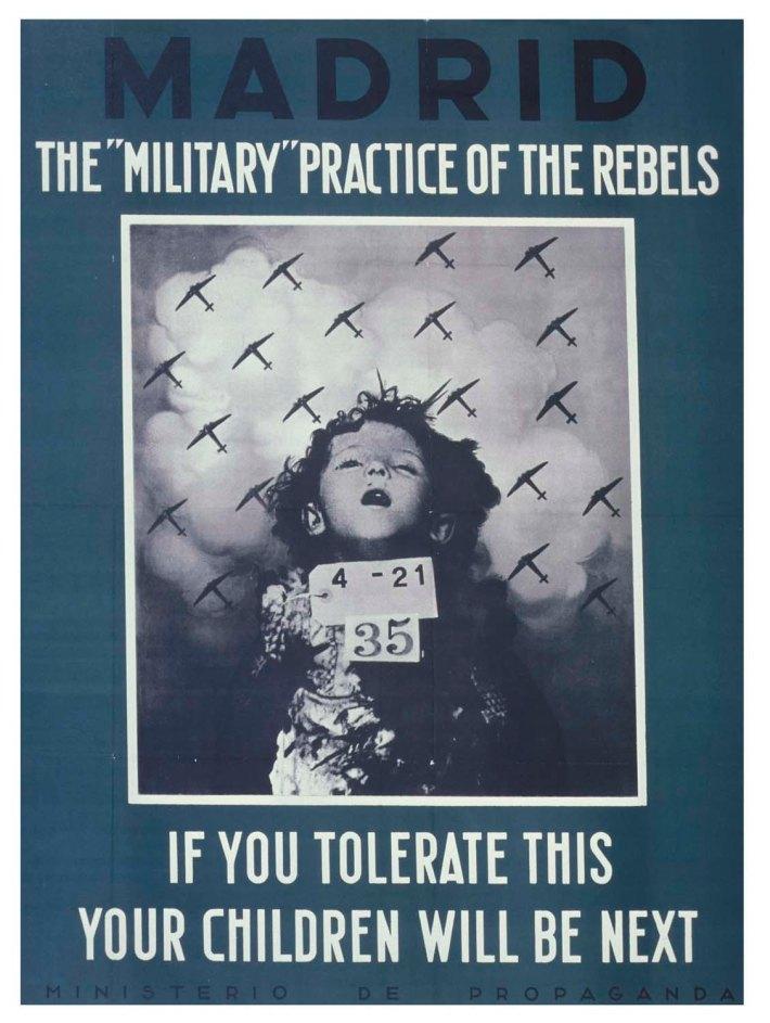 Cartel de propaganda republicano para las Brigadas Internacionales.
