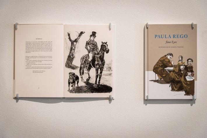 Paula Rego ilustraciones libro Jane Eyre book